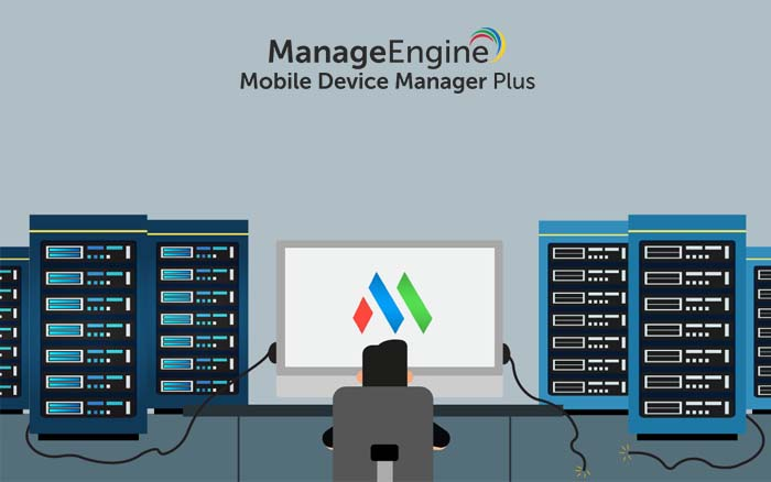 Cómo Mobile Device Manager Plus se adapta a su marco de TI